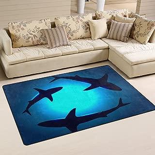 Best shark bedroom rug Reviews