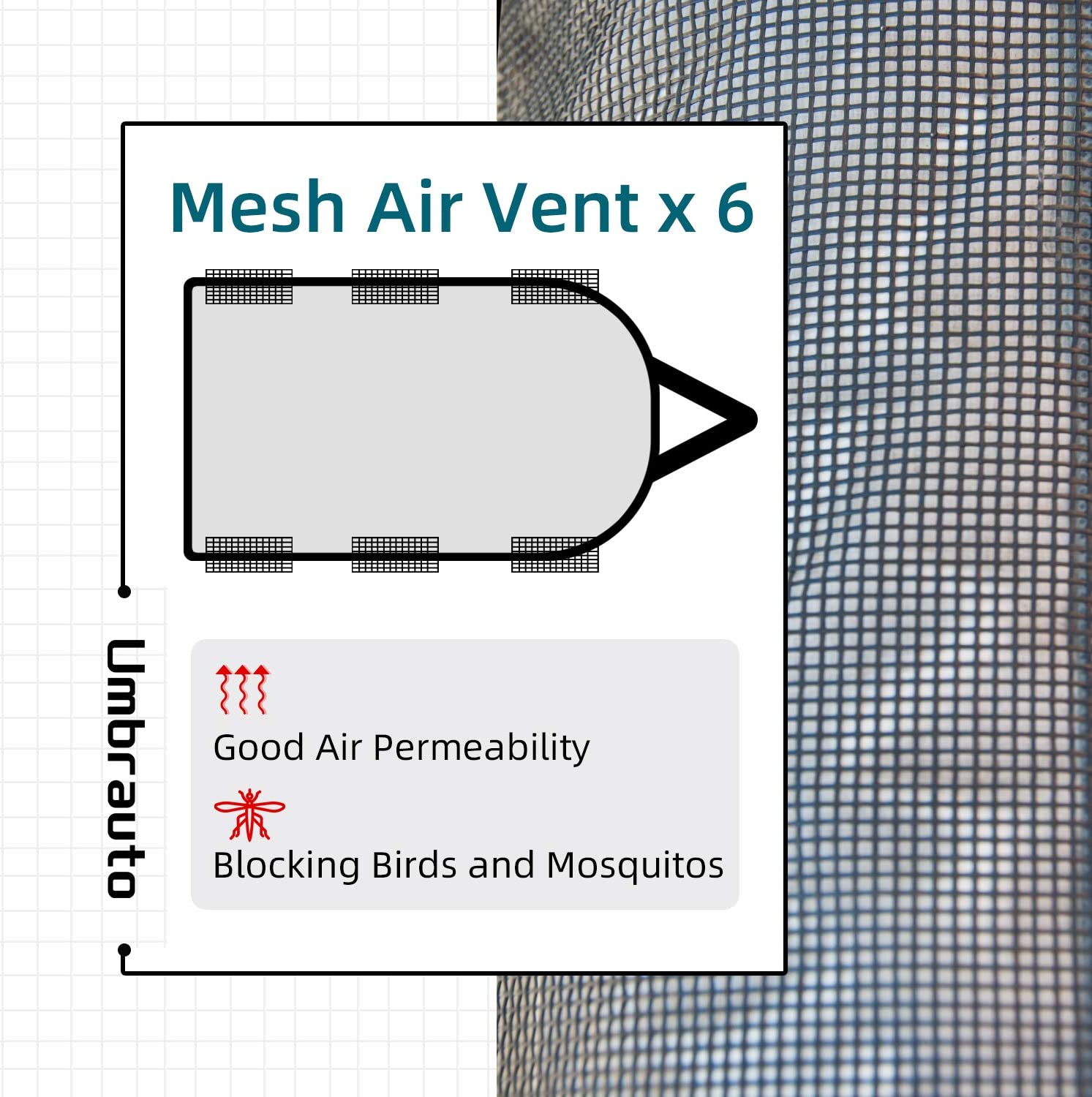 Grey Umbrauto Class A RV Cover Thick 3 Layers Polypro Anti-UV Camper Cover Fits 34-37Ft Motorhome Breathable Waterproof Quick Drying