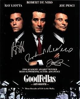 GOODFELLAS - Reprint 8x10 inch Photograph - Robert De Niro Ray Liotta Joe Pesci Lorraine Bracco Mafia godfather
