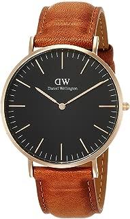 [ダニエル・ウェリントン]DanielWellington 腕時計 Classic Black Durham ブラック文字盤 DW00100126 メンズ [並行輸入品]