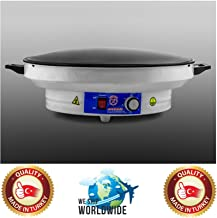 Electric Professional 20 inch Large Model Tawa Arabic Saj Bread Roti Pan Chapati Flat Bread Tortilla Pita Papad Maker Warmer Machine 220V