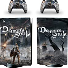 Demon Soul Oumaga Ps5 Sticker (Demon Soul) For Playstation 5 System Console And Controller Skin Sticker (Customizable)