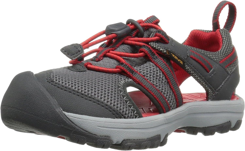 Teva Boys' T Manatee Sport Sandal, Charcoal grau, grau, grau, 5 M US Toddler e51