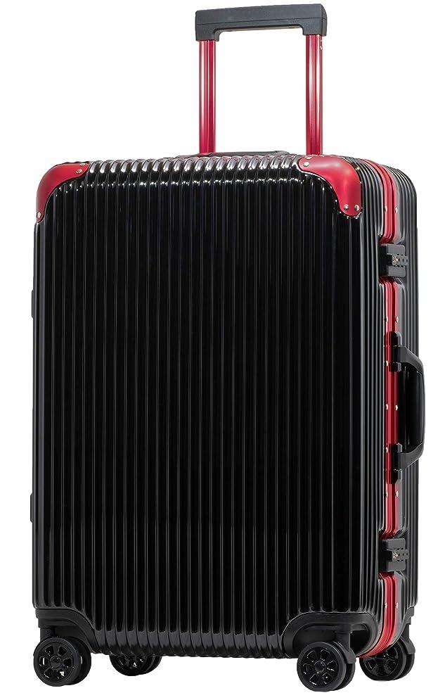 落胆した神のクリーク[PROEVO/プロエボ] スーツケース フレームキャリー 受託手荷物 M L LL 静音 ダブルキャスター 8輪 大容量 軽量 アルミフレーム TSAロック キャリーケース キャリーバッグ