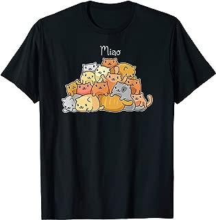 Kawaii Cat Japanese Anime Cute Lovers And Cosplay Gift T-Shirt