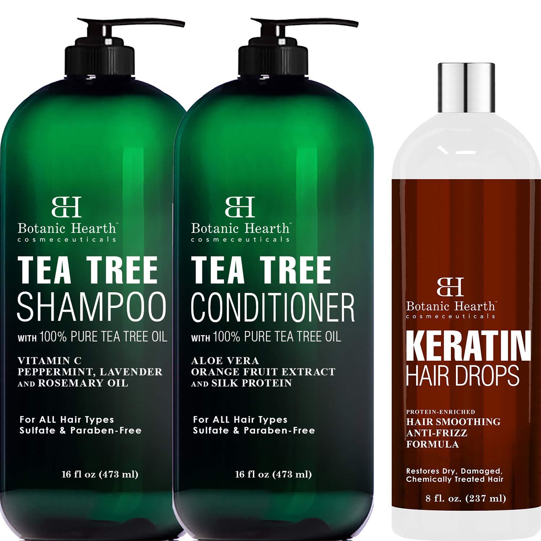 Botanic Baltimore Mall Hearth Tea Rapid rise Tree Shampoo Conditioner a oz each Set 16