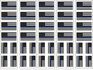 40 Tattoos: Thin Blue Line American Flag: Police & Law Enforcement Support