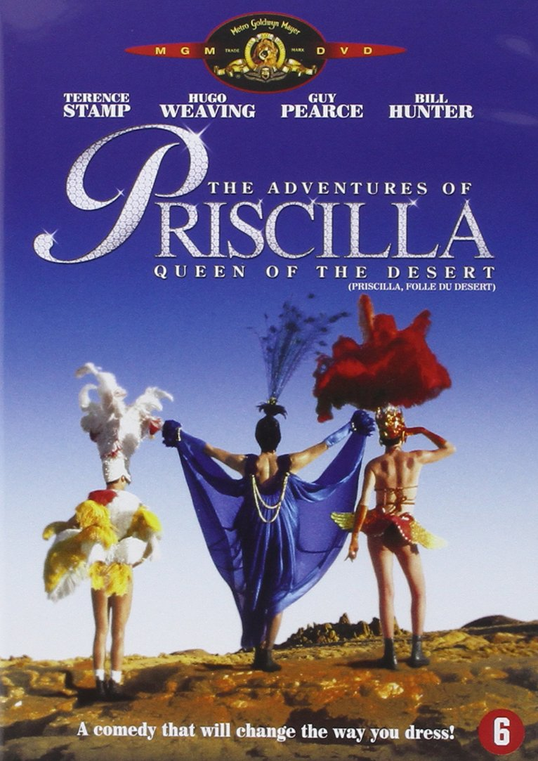 Priscilla Queen Gorgeous Ranking TOP15 of the Desert PAL Reg.2 NON-USA FORMAT NL