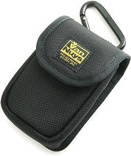 バンナイズ SONY Cyber-shot RX100 M6/M5/RX100 M4/RX100 M3/RX100 M2/RX100 用 縦型 キャリングケース (バリスティック ナイロン製) 80mm 大型 カラビナ 付属