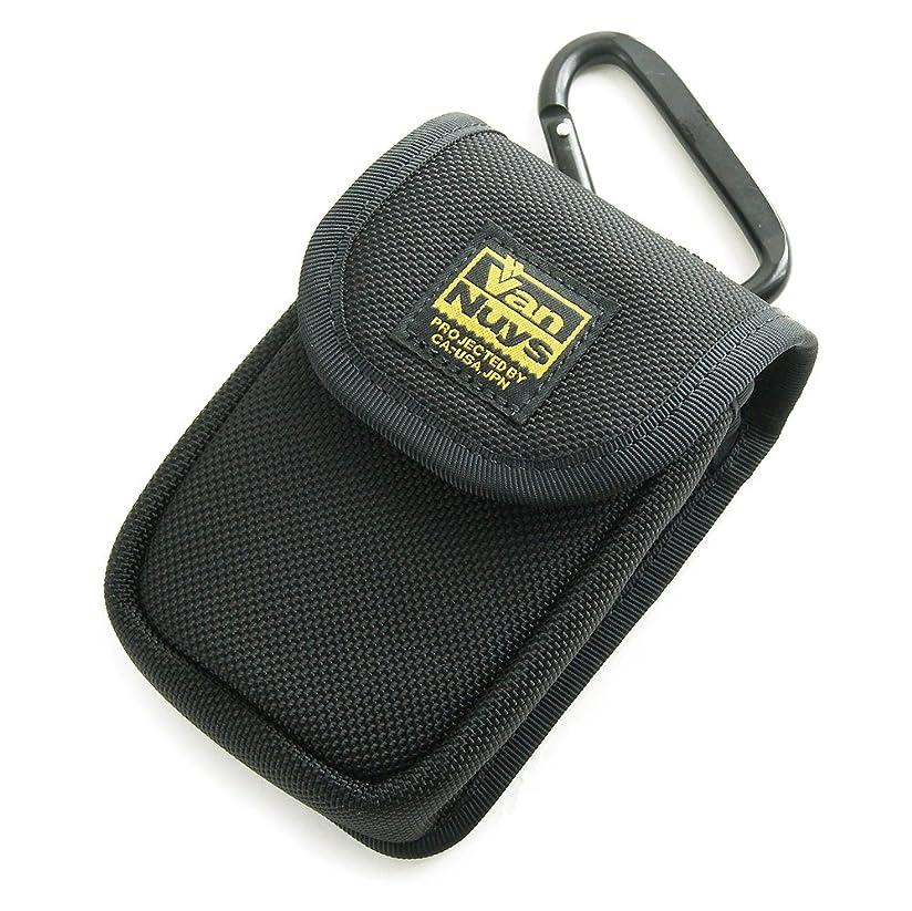 サーマル本物の冷蔵庫バンナイズ SONY Cyber-shot RX100 M6/M5/RX100 M4/RX100 M3/RX100 M2/RX100 用 縦型 キャリングケース (バリスティック ナイロン製) 80mm 大型 カラビナ 付属