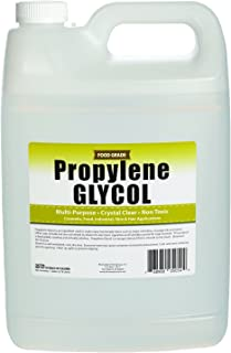 Propylene Glycol - 1 Gallon - USP Certified Food Grade - Highest Purity, Humectant, Fog Machine, Humidor & Antifreeze Solution, DIY, Kosher