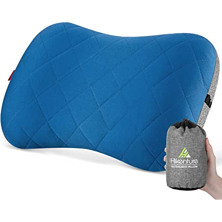Comfortable,Inflatable Pillow for Camping//Sleeping//Hiking//Backpacking Travel Pillow Compressible Redmoo Inflatable Pillow Compact Ultralight Inflating Camping Pillows Blue