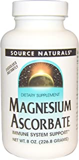 SOURCE NATURALS Magnesium Ascorbate Buffered C Crystals 226.8 OZ