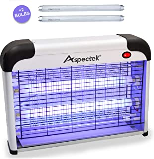Aspectek Upgraded 20W Electronic Bug Zapper, Insect Killer – Mosquito, Fly, Moth,..