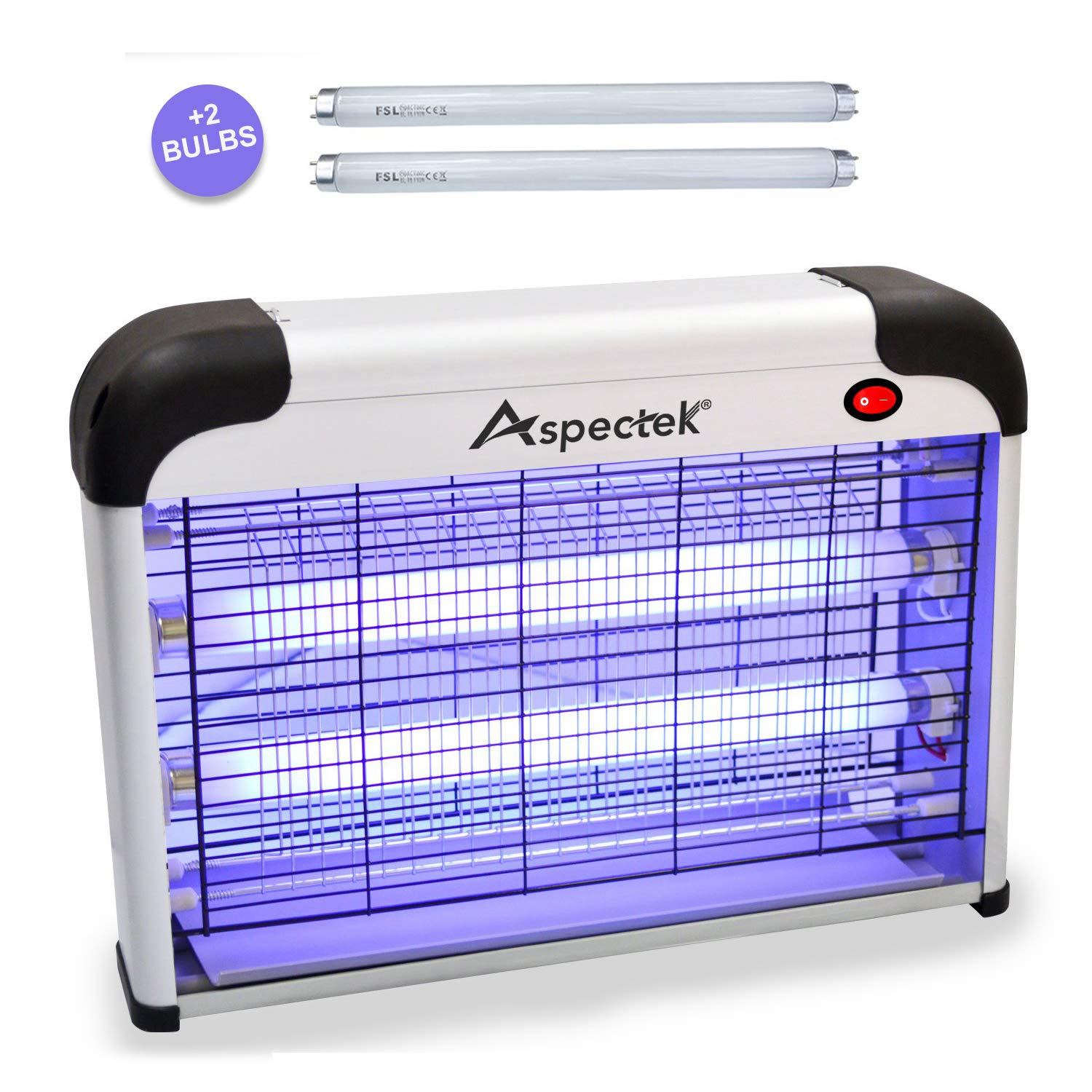 Aspectek UPGRADED Electronic Zapper Insect
