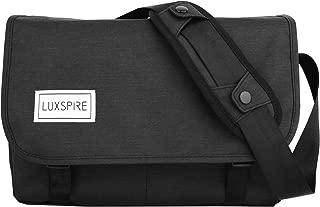 Luxspire Messenger Bag, Waterproof Oxford Cloth Classic Men Crossbody Casual Bag