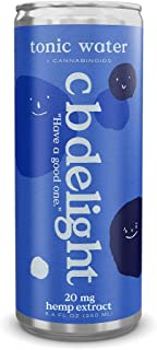 c b delight Tonic Water 12-pack 8.4oz cans (12)