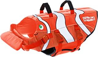 Dog Life Jacket Ripstop Life Jacket for Dogs by Outward Hound, Extra Large, Fun Fish