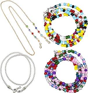 Ticollabb 4Pcs Lanyard Necklace Women Girls Kids Chains Around The Neck