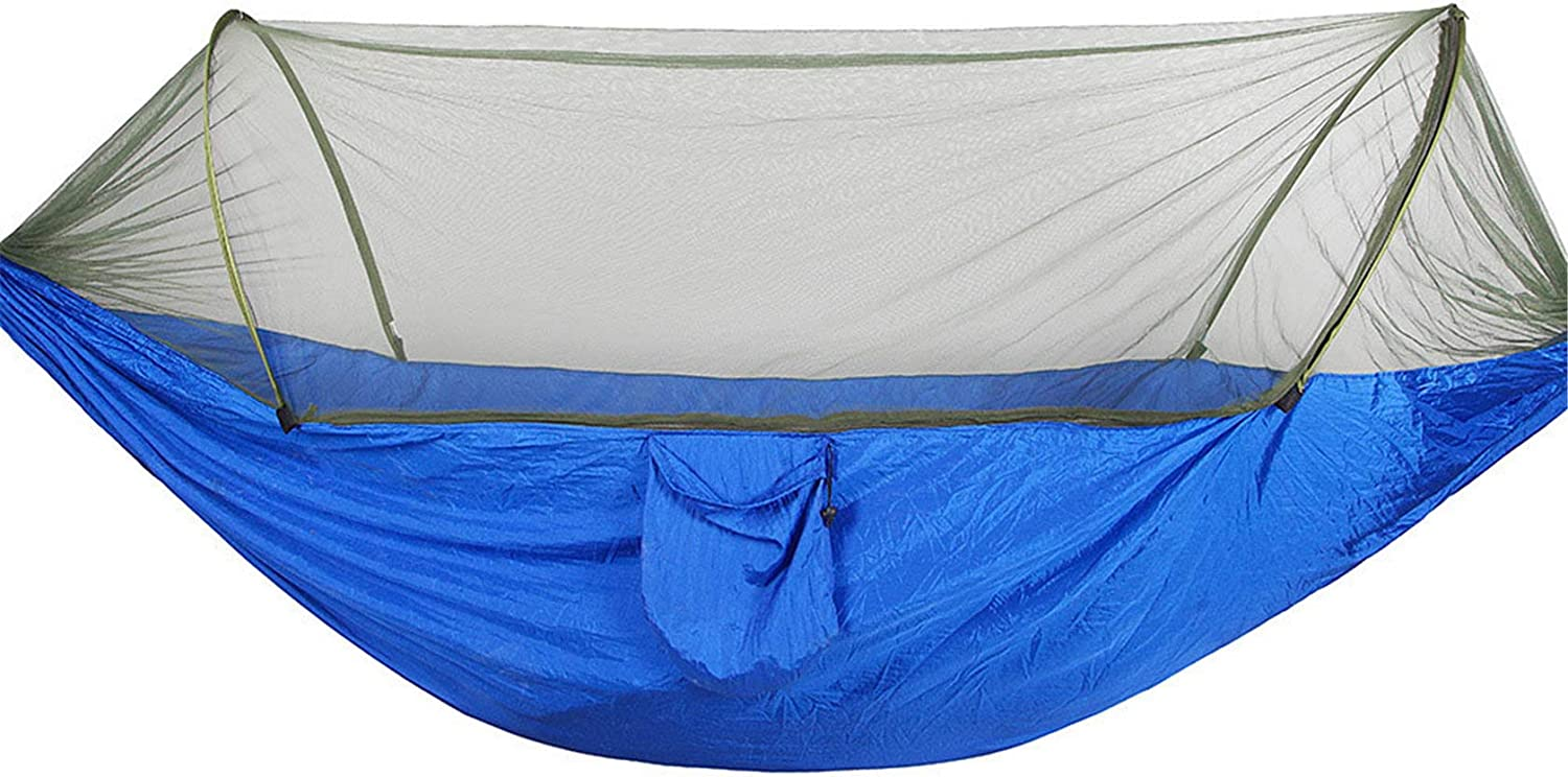 Anti-Rollover Camping Hammock Double Portable Over item handling ☆ Directly managed store Hammocks Single