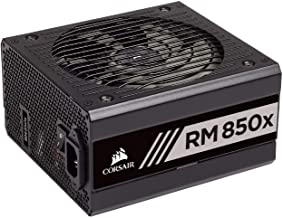 Corsair RMX Series, RM850x, 850 Watt, 80+ Gold Certified, Fully Modular Power Supply (CP-9020180-NA)