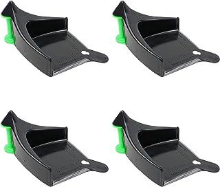 DETAIL GUARDZ Car Hose Guides (4 Pack Black)