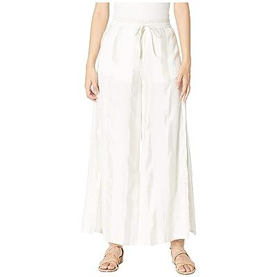 onia Chloe Wide Pants (White 2) Women
