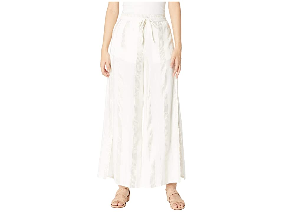 onia Chloe Wide Pants (White 2) Women