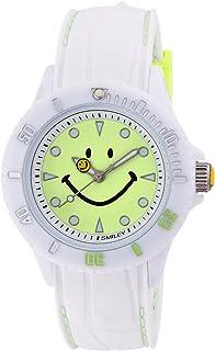 [スマイリー]SMILEY 腕時計 ステッチシリコン ホワイト×ライトグリーン WC-HBSIL-WGR 【正規輸入品】