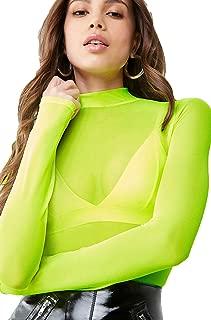 Best neon green mesh top Reviews