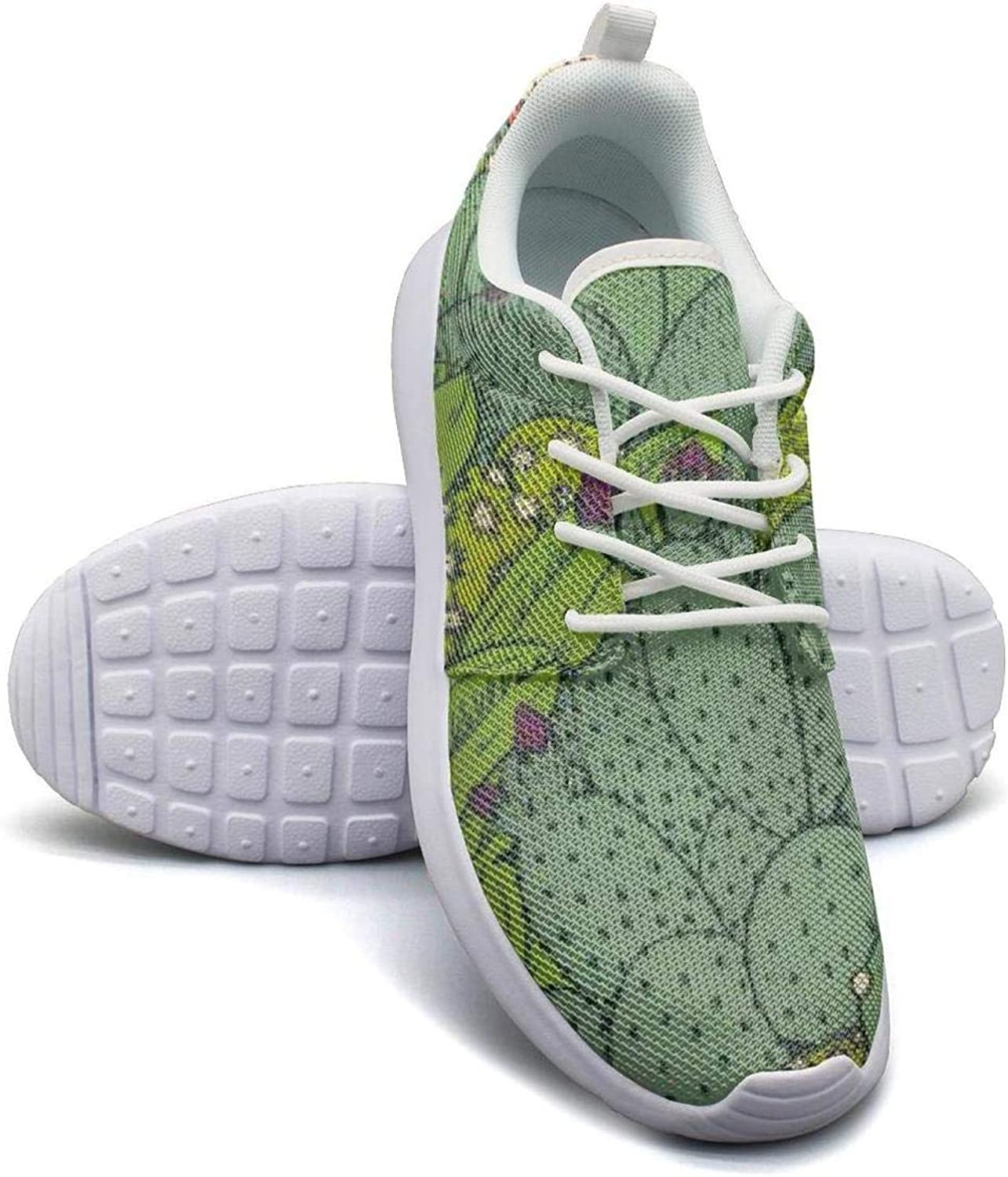 Gjsonmv Cactus Mammillaria Peyote Opuntia mesh Lightweight shoes for Women Non Slip Sports Running Sneakers shoes