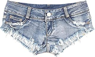 Women's Low Waist Sexy Denim Short Hot Pants Sexy Mini Jeans Shorts