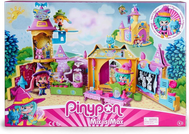 increíbles descuentos Pinypon Pinypon Pinypon Escuela de Brujitas - Set de juguete y accesorios con 1 figura para Niños y niñas de 4 a 8 años (Famosa 700015074)  connotación de lujo discreta