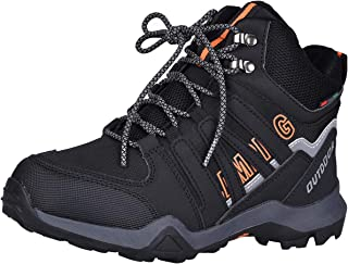 Kids Hiking Shoes Outdoor Boots Comfortable Non-Slip Sneaker Snow Boots for Hiking, Running, Basketball, Climbing