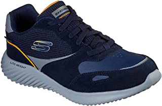 Skechers Men's Bounder Jigster Cross Training Shoes Navy/Multi