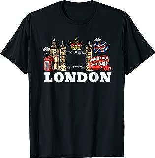 England London Shirt Souvenir For Men Women Kids