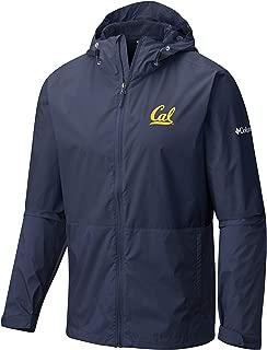 Shop College Wear UC Berkeley Cal Waterproof Windbreaker - Navy