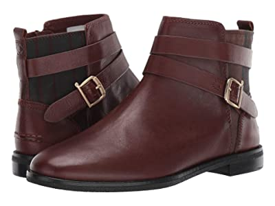 Sperry Seaport Shackle Leather Boot (Brown/Plaid) Women