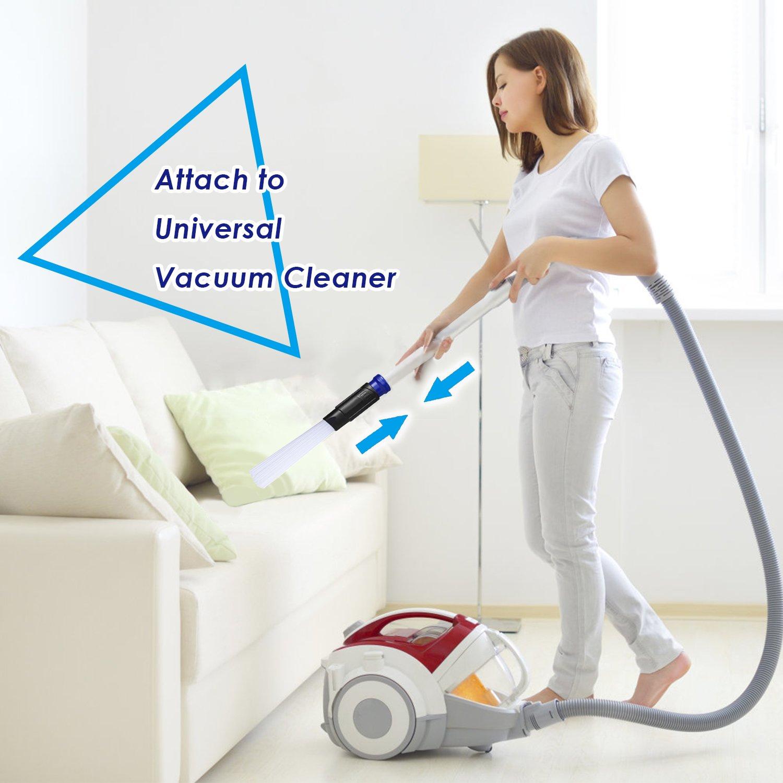 Dust Daddy,Cepillo de Limpieza para Aspirador Universal,vacuumax perfecto Para Carros/Ventilas/Mascotas/Esquinas/Cajones -PISKY: Amazon.es: Hogar