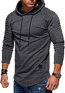 Halfword Men's Hoodies Sweatshirts Mens Joggers Jumpers for Men Long Sleeve