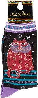 Women's Indigo Cat Sock