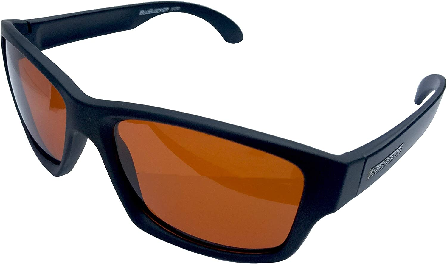 blueBlocker Black Matte Polarized Wayfarer  4206K