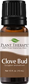 Plant Therapy Clove Bud Essential Oil 100% Pure, Undiluted, Therapeutic Grade 10 mL (1/3 oz)