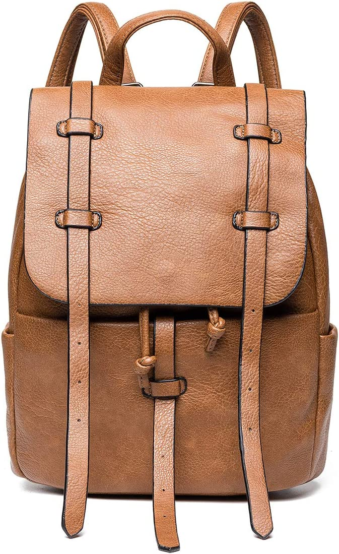 Fashion Backpack Large-scale sale JOSEKO Casual Rucksack with Leather Translated Rivet Dayp