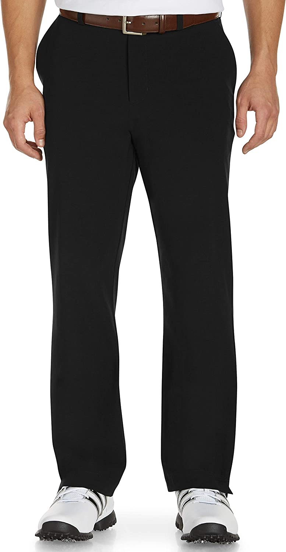 Cutter & Buck Men's Big & Tall Bainbridge Flat Front Unhemmed Pant