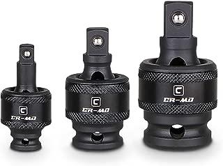 Capri Tools Premium Impact Universal Joint Set, CrMo, 3-Piece