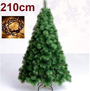 comprar comparacion SD Arbol de Navidad 210 cm Pino Verde clásico +NAVIDEÑO + 100 Luces LED