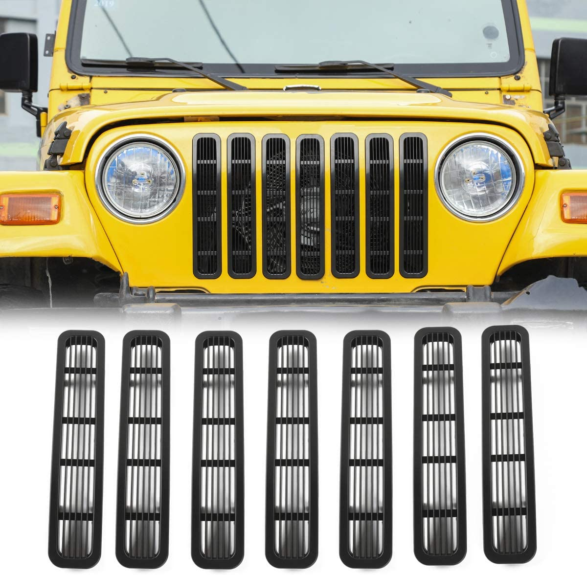 RT-TCZ Clip-on Grille Las Vegas Mall Front Mesh for Inserts Sales results No. 1 Je 1997-2006
