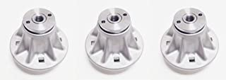 Set of 3, Spindle Assemblies Replace Ariens Gravely 51510000, 61527600, or 61543800