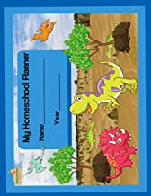 My Homeschool Planner: Dinosaurs Flexible Interactive Homeschooling Lesson Plan Curriculum Organizer Book for One Student (Peachy Keen Homeschool Planners)